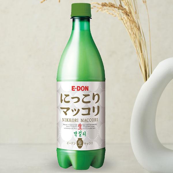 [冷]にっこり生マッコリ Alc.6%