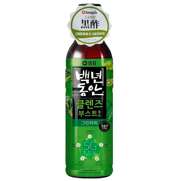 百年の間黒酢グリーンパワー900ml