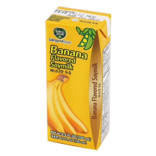 バナナ味豆乳(190ml)