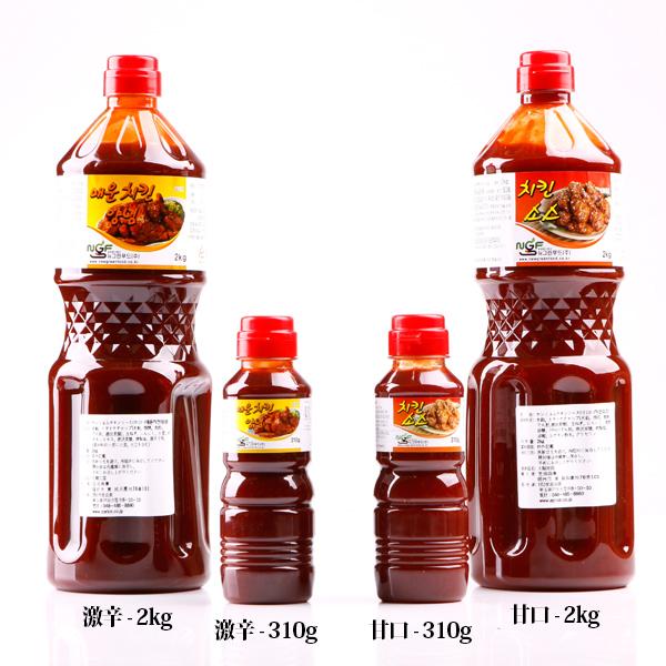 ヤンニョムチキンソース(甘口)2kg