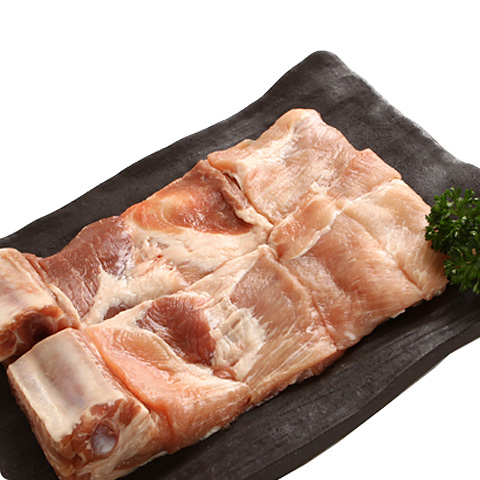 [凍]ピョルチン骨付き豚カルビ約1kg-メキシコ産