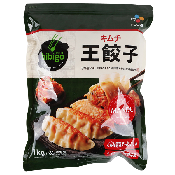 [凍]bibigoキムチ王餃子1kg※商品詳細必ず確認※