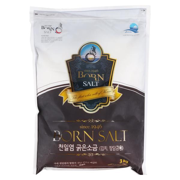 韓国産あら塩3kg