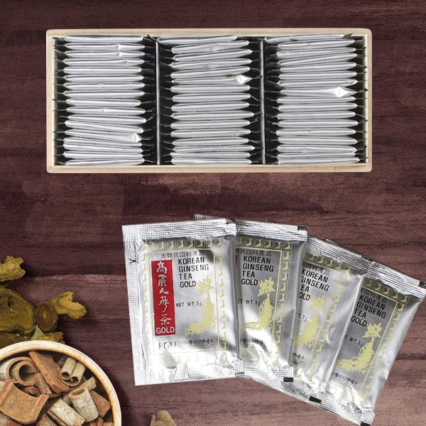 高麗人参茶(木箱)50包