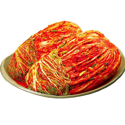 [冷]ハンソン白菜キムチ500g(韓国産):4/2入荷【月1回入荷:入荷日必ず確認ください】