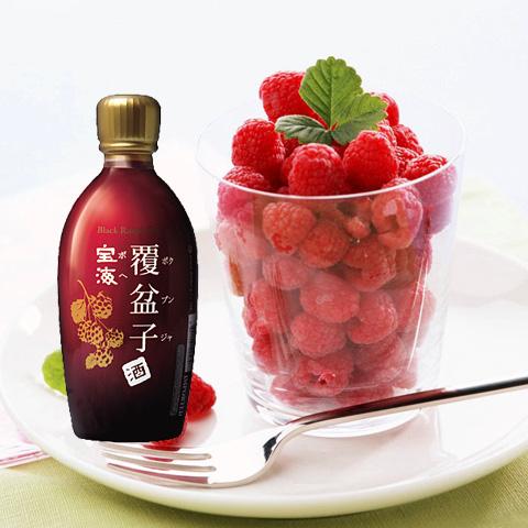 宝海覆盆子酒(ボクブンジャ)-Alc.15%