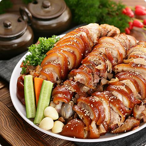 [凍]冷凍豚足小(生)約1kg-日本産