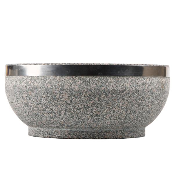 【使用方法必確認】高級石焼ビビンパ鍋のみ-外径18cm(中国産)