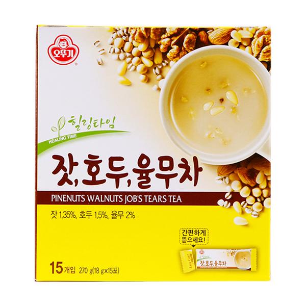 松の実 クルミ ハトムギ茶