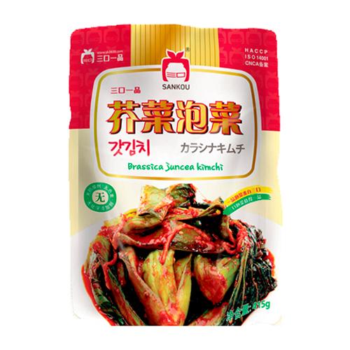 [冷]一品カラシナキムチ415g-中国産