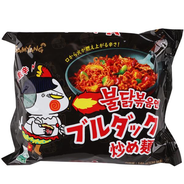 ブルダック炒め麺(激辛)-日本版