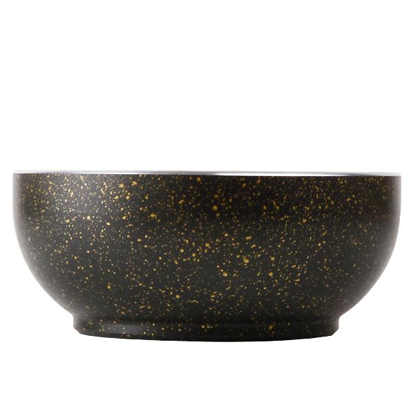 【使用方法必確認】アルミ石鍋ビビンパ器[黒](外径17cmX高さ7cm)