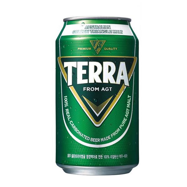 [jinro] テラビール(缶ビール・355ml×1本) TERRA 眞露ビール