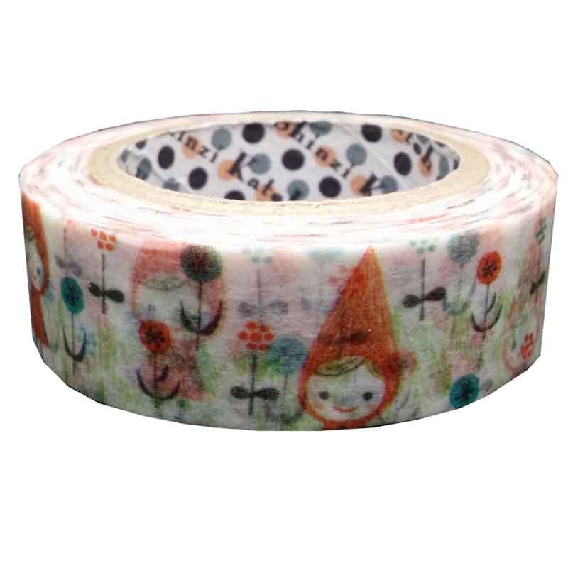 赤ずきん garden マスキングテープ