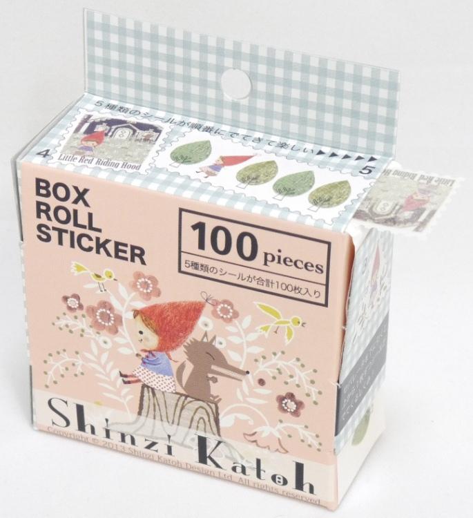 redhood (BOX ROLL STICKER)