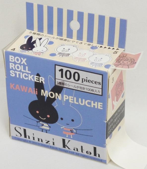 monpeluche (BOX ROLL STICKER)