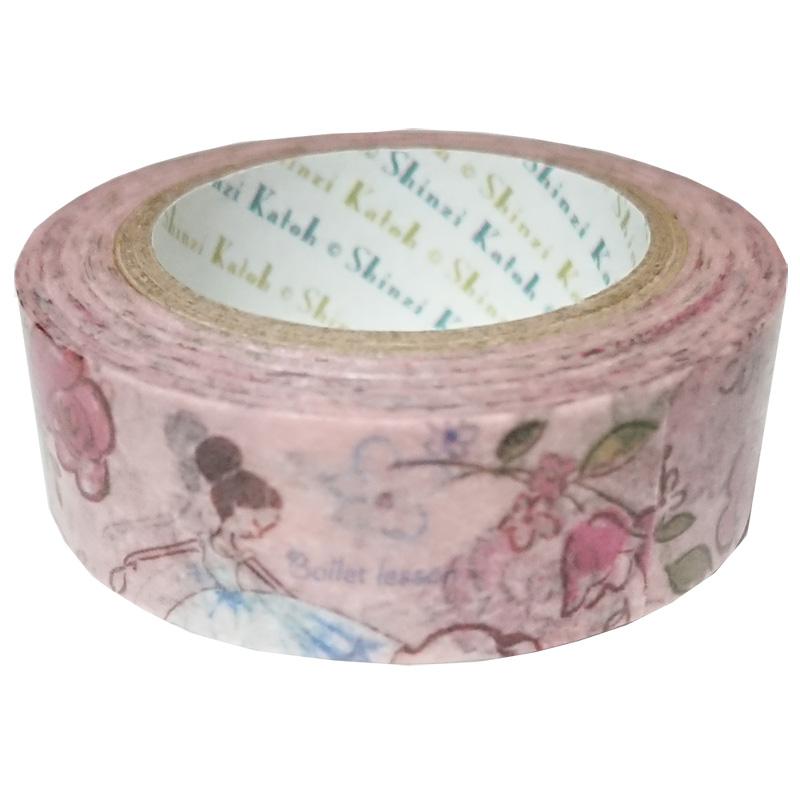 マスキングテープ ballet rose