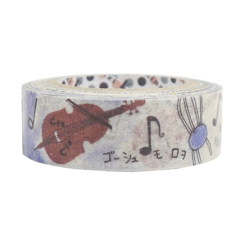 セロ弾きのゴーシュ2 マスキングテープ -宮沢賢治シリーズ-