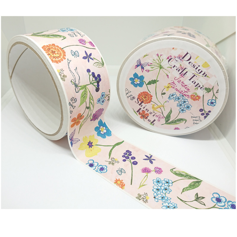 クラフトテープ flowers