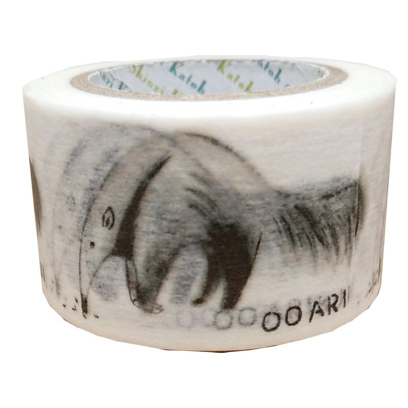 絶滅危惧種マスキングテープ27mm幅 OOARIKUI