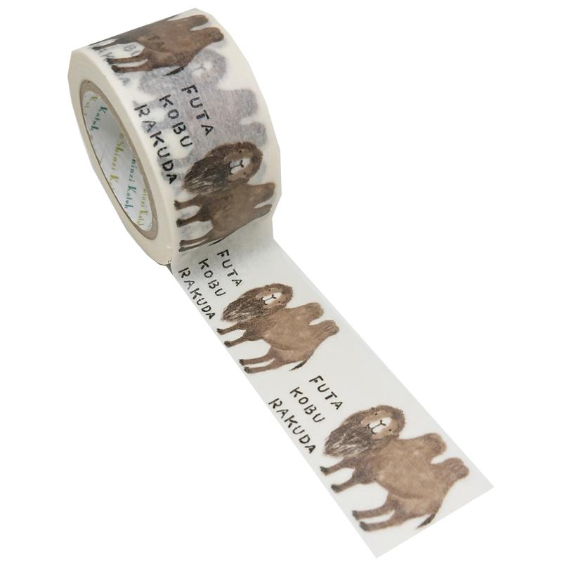 絶滅危惧種マスキングテープ27mm幅 FUTAKOBURAKUDA