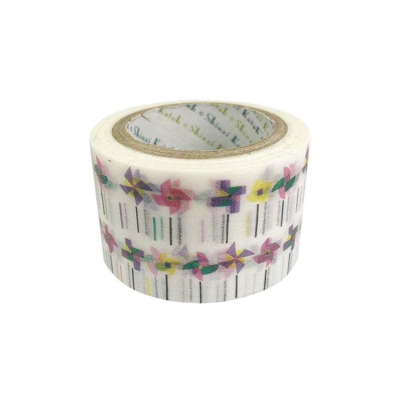 マスキングテープ(いろは和紙27mm) 風ぐるま