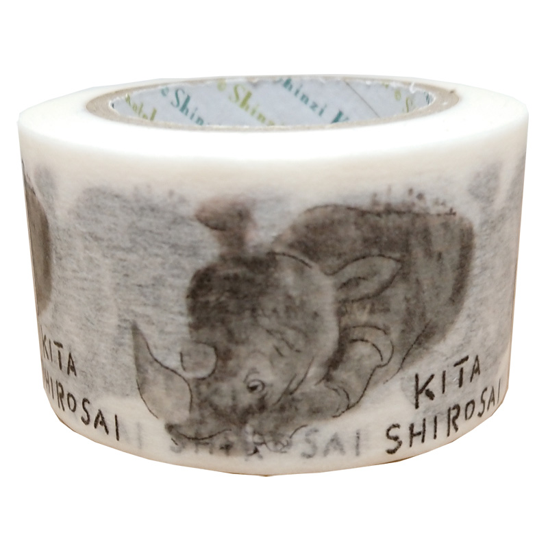 絶滅危惧種マスキングテープ27mm幅 KITASHIROSAI