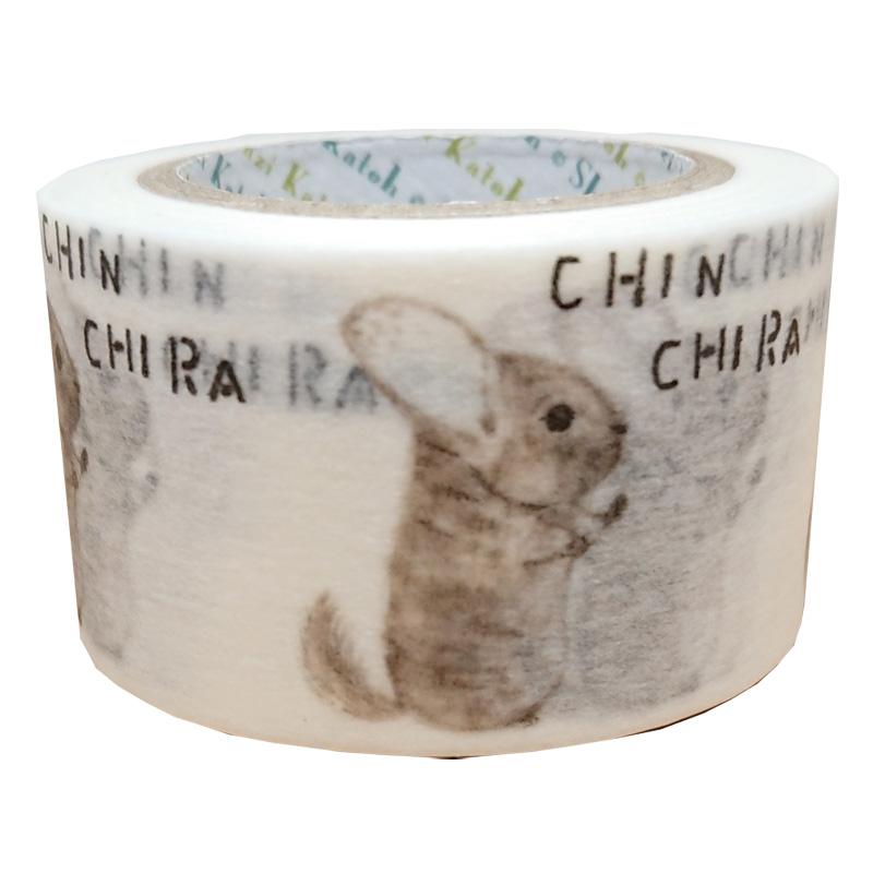 絶滅危惧種マスキングテープ27mm幅  CHINCHIRA