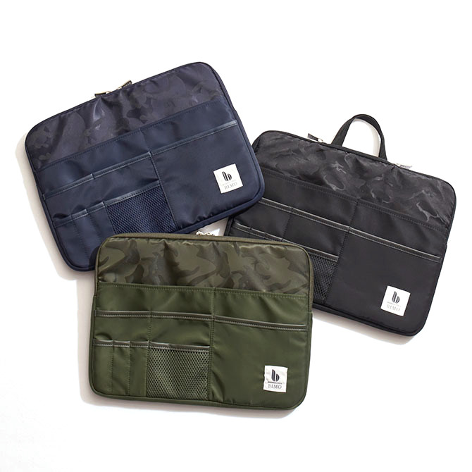 BIMO 【ビモ】<br>Multi Pocket Case<br>Nylon Collection<br>13インチ