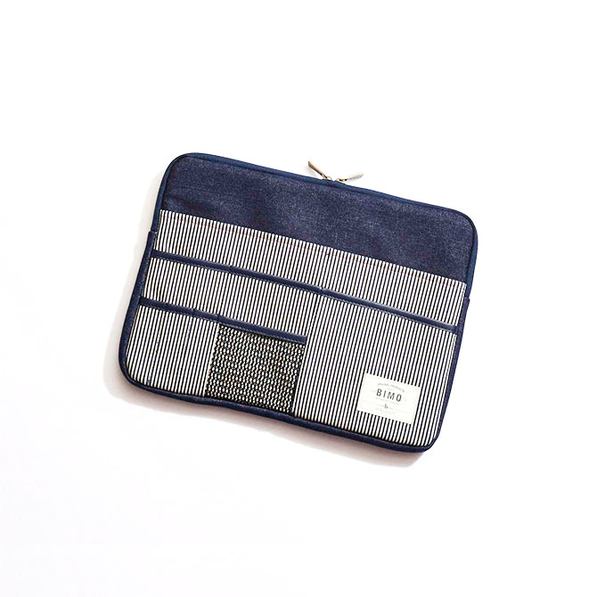BIMO 【ビモ】<br>Multi Pocket Case<br>Denim Collection<br>13インチ