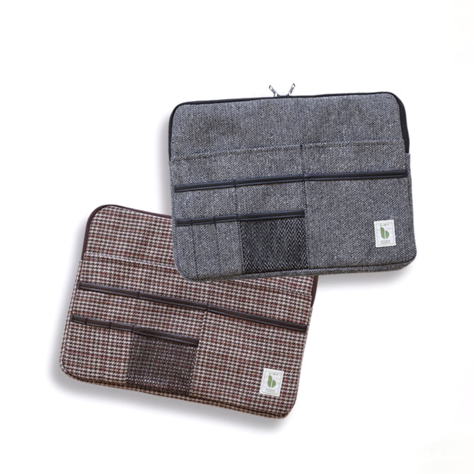 BIMO 【ビモ】<br>Multi Pocket Case<br>Tweed Collection<br>13インチ