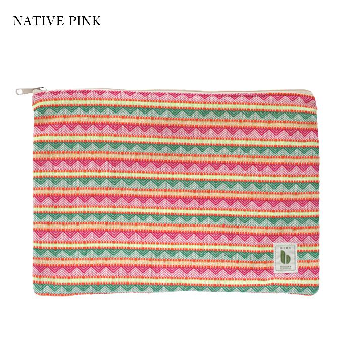 BIMO 【ビモ】<br>Mini pouch<br>Native Collection<br>Lサイズ