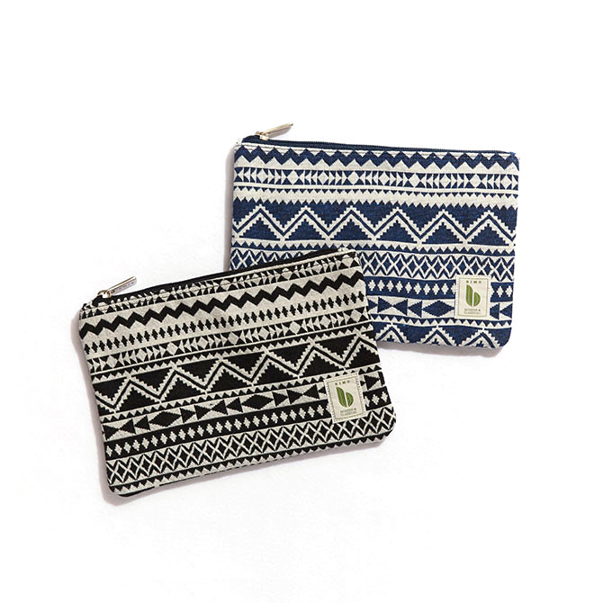 BIMO 【ビモ】<br>Mini pouch<br>Native Collection<br>Lサイズ
