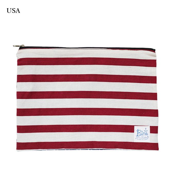 BIMO 【ビモ】<br>Mini pouch<br>World Collection<br>Lサイズ