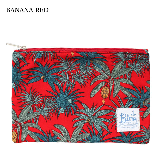 BIMO 【ビモ】<br>Mini pouch<br>Fruit Collection<br>Mサイズ