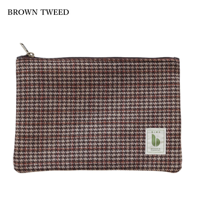 BIMO 【ビモ】<br>Multi Pocket Case<br>Tweed Collection<br>Mサイズ