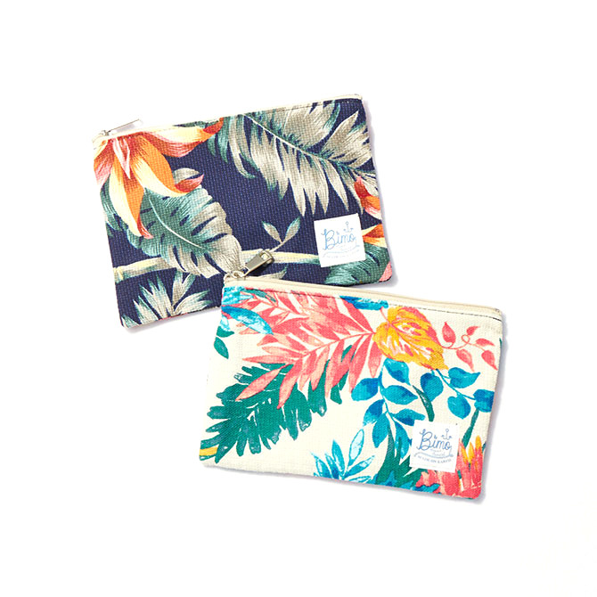 BIMO 【ビモ】<br>Mini pouch<br>Resort Collection<br>Mサイズ