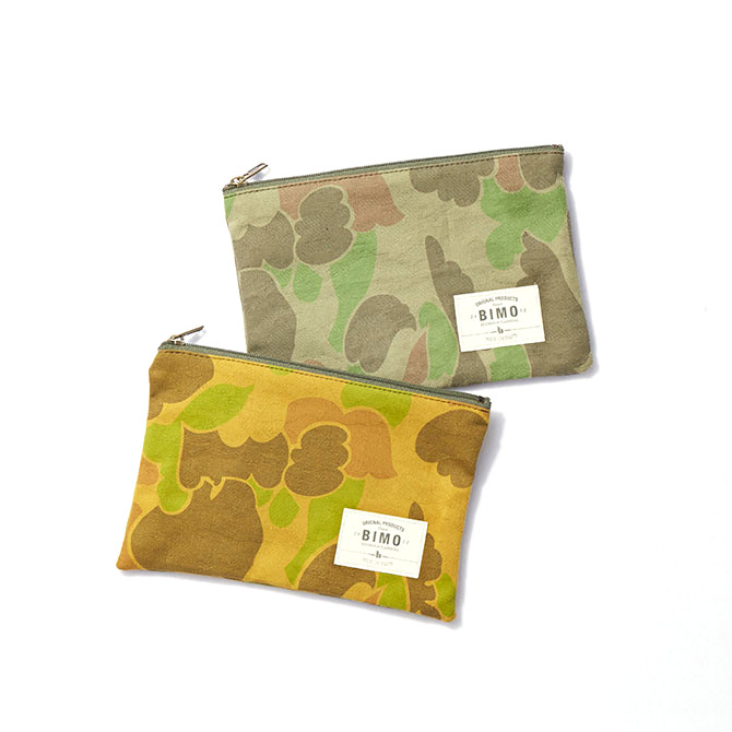 BIMO 【ビモ】<br>Mini pouch<br>Camo Collection<br>Sサイズ