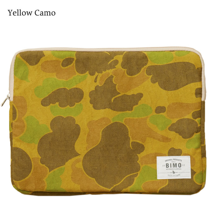BIMO 【ビモ】<br>Notebook Case<br>Camo Collection<br>13インチ