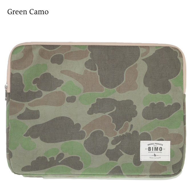 BIMO 【ビモ】<br>Notebook Case<br>Camo Collection<br>15インチ