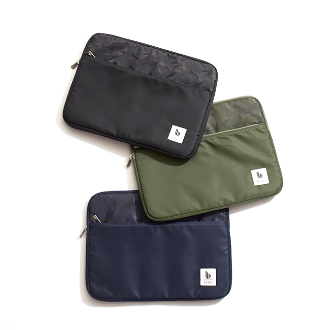 BIMO 【ビモ】<br>Notebook Zip Case<br>Nylon Collection<br>13インチ