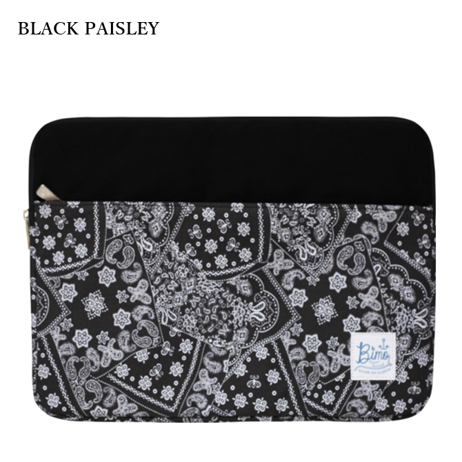 BIMO 【ビモ】<br>Notebook Zip Case<br>Paisley Collection<br>13インチ