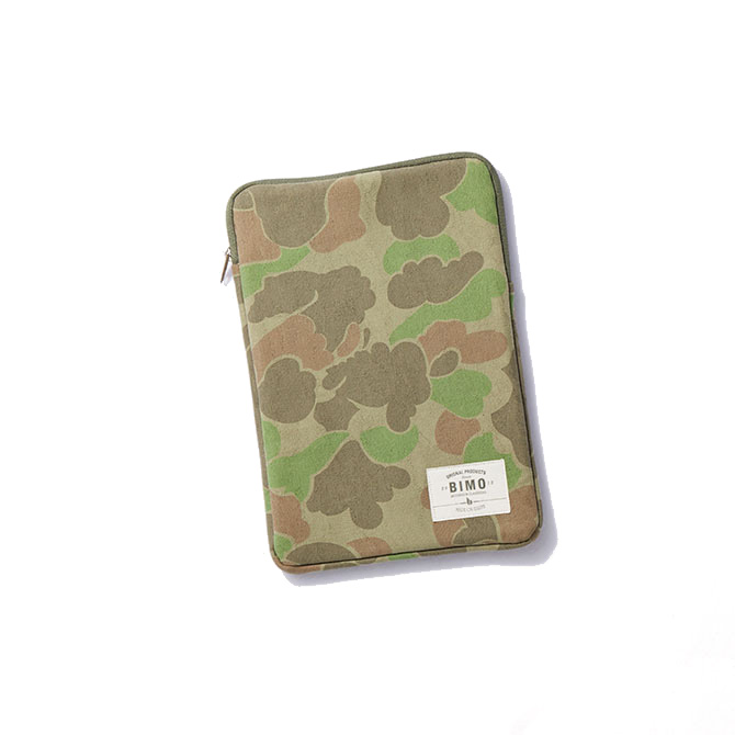 BIMO 【ビモ】<br>Tablet Zip Case<br>Camo Collection<br>8インチ