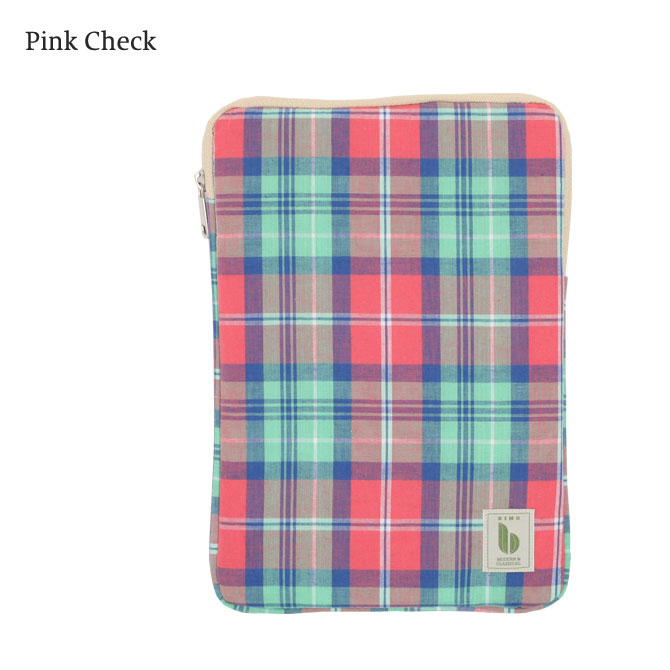 BIMO 【ビモ】<br>Tablet Zip Case<br>Check Collection<br>10インチ