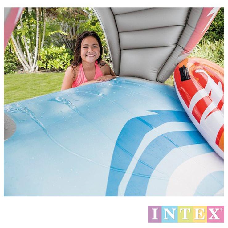 INTEX 家庭用プール シャワープール U57159 サーフィンスライド 子ども用プール ビニールプール 水遊び 【対象年齢6歳以上】