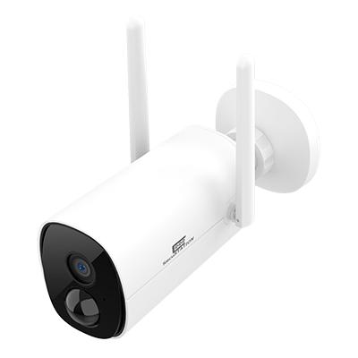 バッテリー内蔵 屋外対応ワイヤレスネットワーク バレットカメラ MK 黒・白・ガンメタ