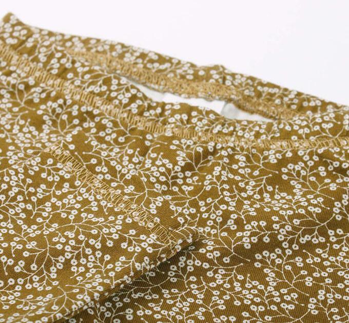 Petit fleur ベビーレギンス(Musli by Green Cotton )74/80cm オーガニックコットン
