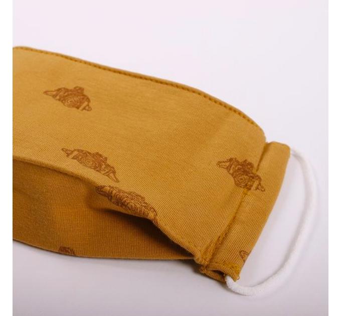 【女性〜子供用】オーガニックコットンマスク フィルター内蔵 布製三層マスク かわいい北欧デザイン