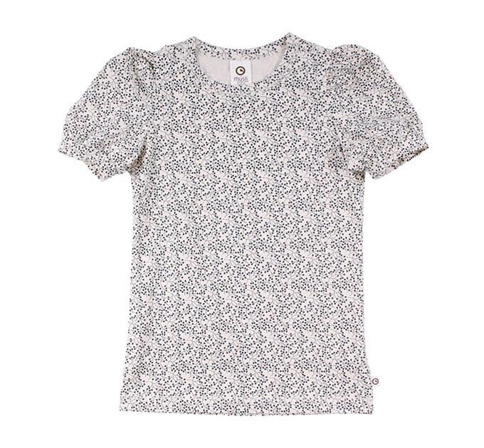 オーガニックコットン Petit puff 半袖Tシャツ