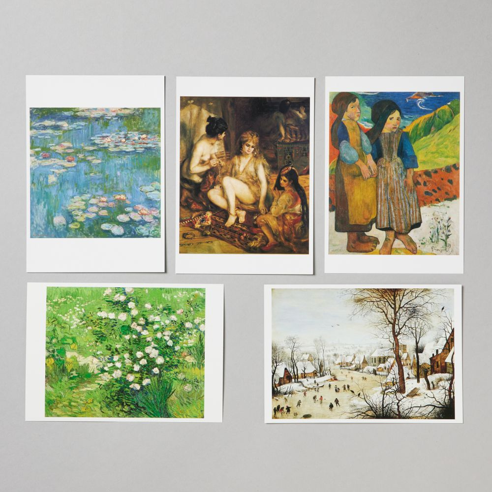 絵はがき 松方コレクションセット5枚